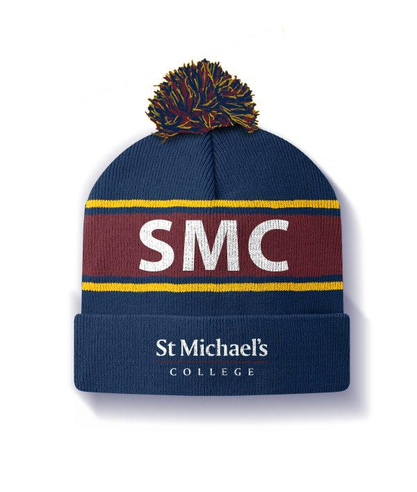 St Michael's College Beanie - Back